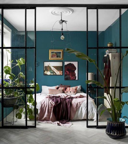 warna cat kamar teal
