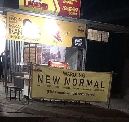 warung new normal