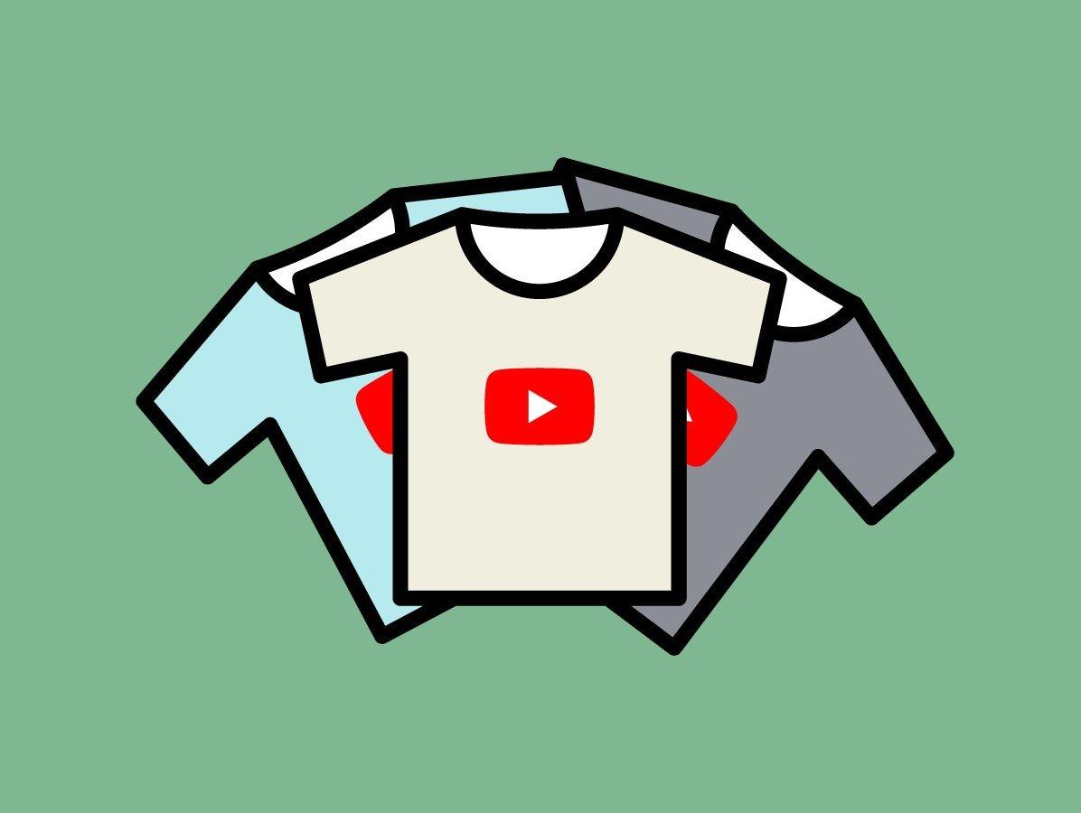merchandise youtube