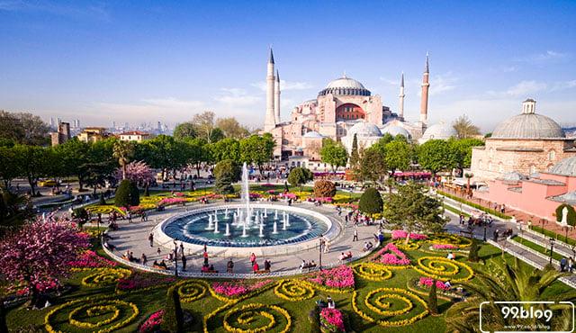 wisata religi di turki