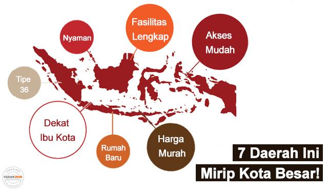 7 Wilayah Satelit Ini Mirip Kota Besar, Temukan Harapan Beli Rumah Murah di Sini!