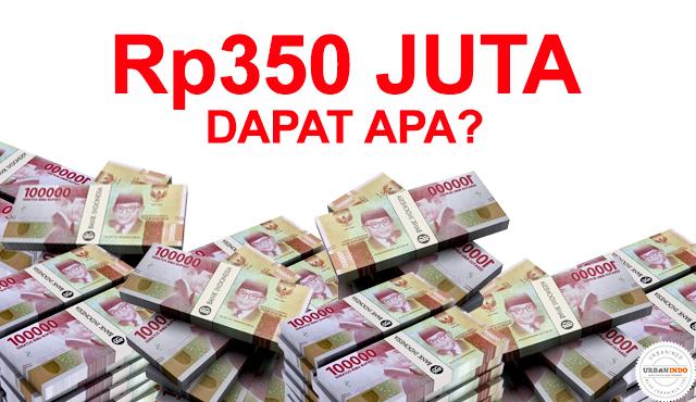 Uang Rp350 Juta
