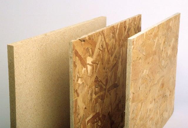 kayu particle board