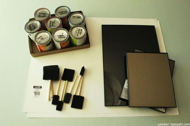 perlengkapan lukis dan cat