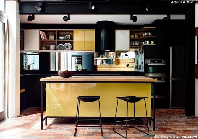 dapur hitam putih