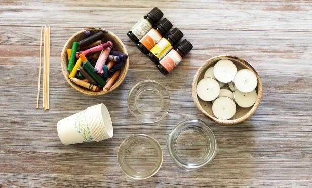 alat dan bahan membuat lilin hias