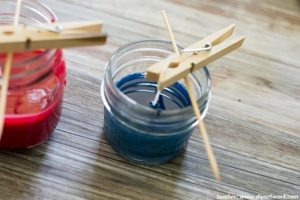 tahap pembuatan lilin dari krayon