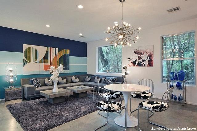 gradasi warna di ruangan