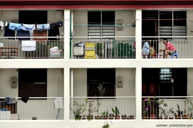 rumah susun di singapura