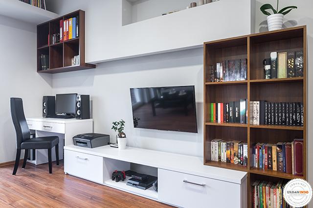 Dekorasi Pemanis untuk Dipasang di Dekat Televisi Dinding