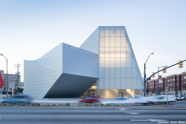 Bangunan Unik Institute for Contemporary Art