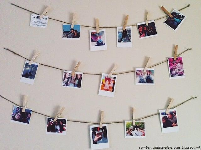 Hasil gambar untuk Pemanfaatan Foto Polaroid dikamar