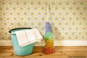 Membersihkan Wallpaper