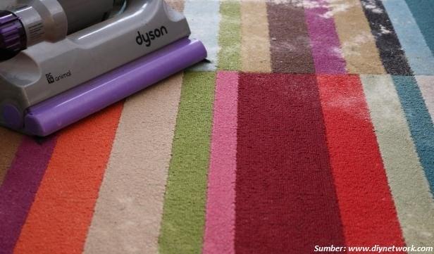 bahan pembersih karpet