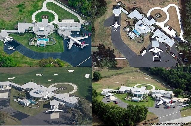 bandara rumah john travolta