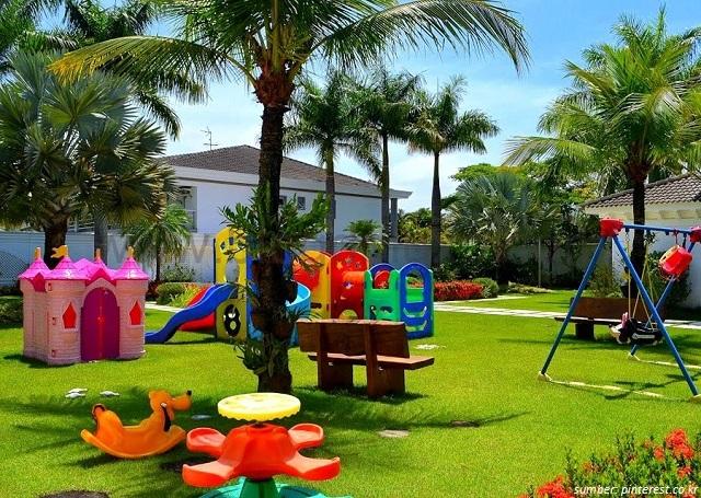 Gambar Desain Taman Bermain Anak Yang Dapat Dibuat Di Rumah