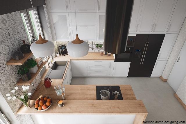 Wajib Ditiru Model Dapur Berbentuk U Yang Unik Untuk Rumah