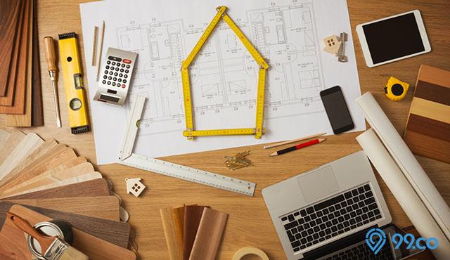 konsisten renovasi rumah