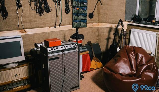 cara membuat studio musik