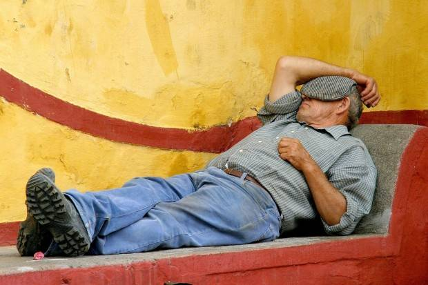 siesta di spanyol