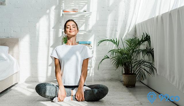 yoga di rumah
