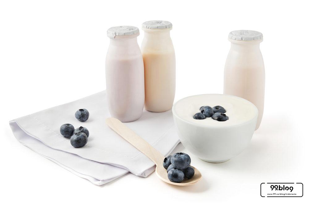 cara menyembuhkan sariawan dengan yoghurt
