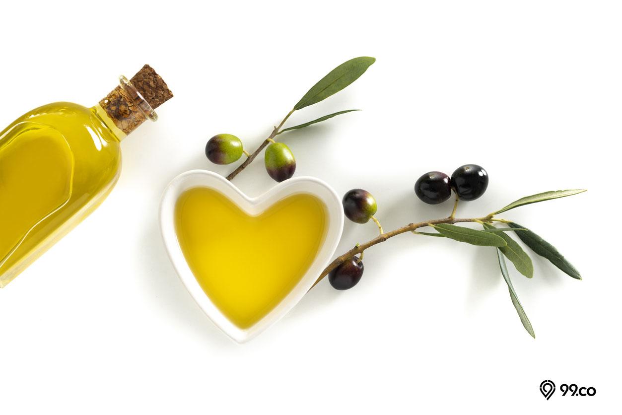 minyak zaitun untuk kulit bersih dan sehat