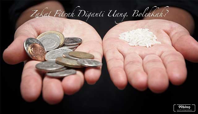 zakat fitrah dengan uang