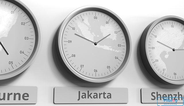 zona waktu di indonesia